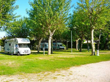 Aire de stationnement de Dante Alighieri à Punta Sabbioni