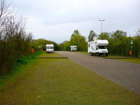 Aire de camping-cars de Saarlouis