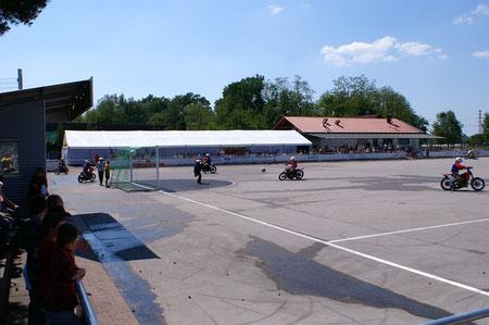Sportplatzanlage des MSC Kuppenheim. Eines der schönsten Stadien in Europa