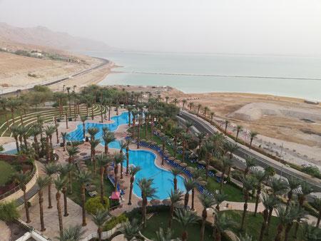 Ein Boqek resort at the Dead Sea