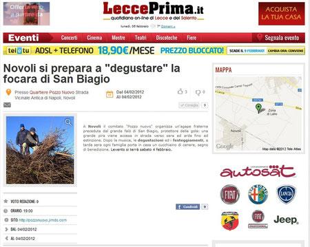 LeccePrima, 02/2012