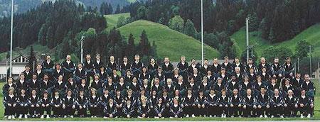 Das Gesamtfoto entstand zum 60 Jahr-Jubiläum im Jahr 2000