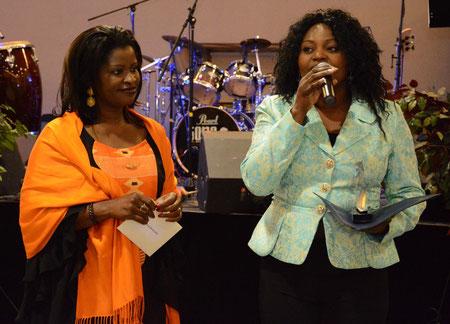 Roselyne Mavungu, directrice de Compagnie F