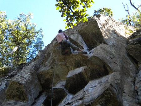 Zona de escalar, cercana a Guadalajara