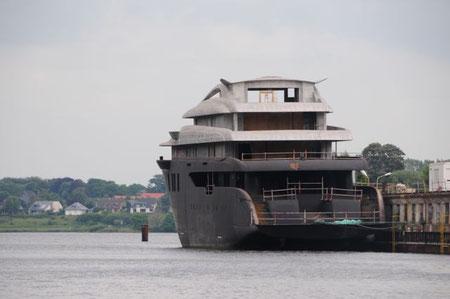 Aus dem Micky Maus Heft- Project Niki- Lürssen- Werft