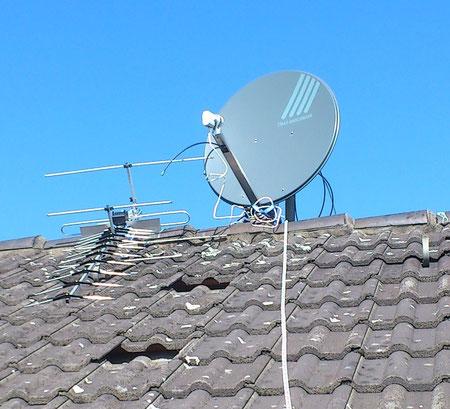 Satelliten Empfang