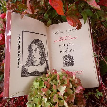 L'Automne, Marceline Desbordes-Valmore, poétesse