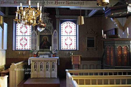 in der Alten Inselkirche von Spiekeroog