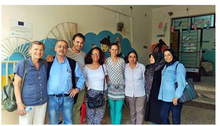 friends of alpha with members of the alpha team in the south of Lebanon