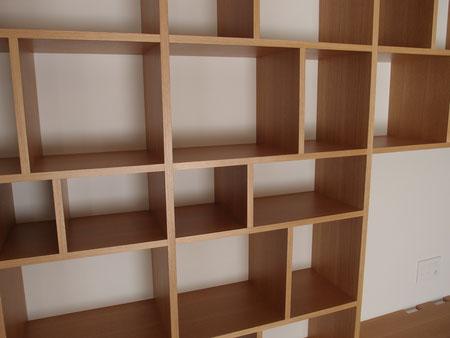 オーダー家具 オーク 壁面収納