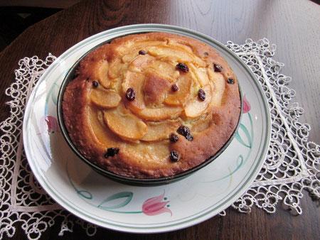 カルバドス風味 リンゴのタルト
