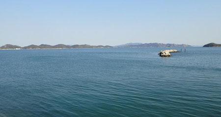 自宅の前の海