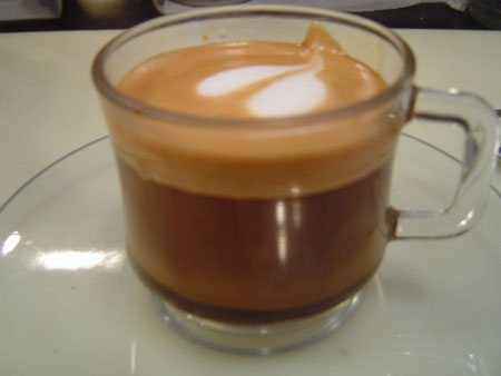 """Espresso """"con Panni"""""""