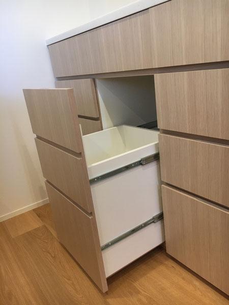 キッチン収納 ごみ箱 置き場所