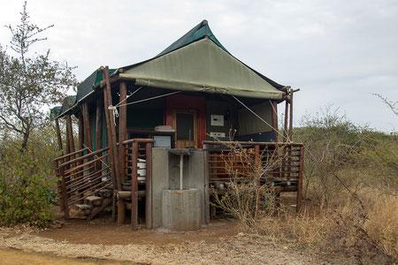 """Unsere Unterkunft im """"Lower Sabie Rest Camp"""", Kruger National Park"""