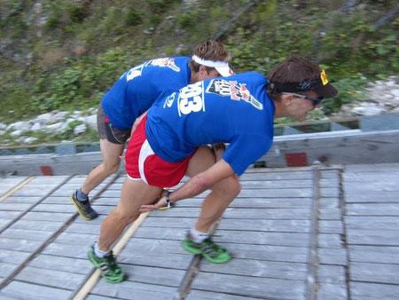 """Noch wenige cm vor dem """"Vertical Kilometer"""" Weltmeister Nejc Kuhar"""