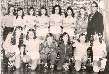 5. Platz bei der 1. DDR-Meisterschaft im Hallenhandball am 27./28. April 1974 in Halle