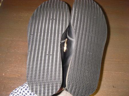徳島県阿南市 靴修理&靴磨き専門店 シューズマイスター オールソール スニーカー 硬い 滑る メンズ