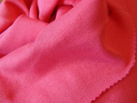 Baumwoll-Bündchenstoff malve