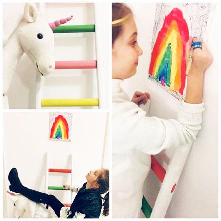 Una scala a pioli per la gioia di una bambina - ellecuorea enjoy your home