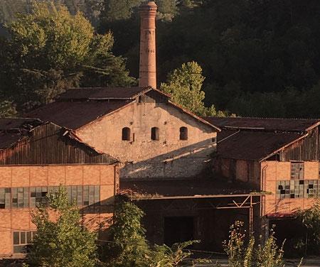 Ancient factory for the processing of chestnut wood - Antica fabbrica per la lavorazione del legno di castagno