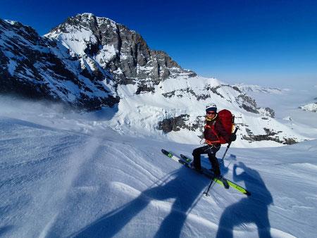 Berglihütte, Jungfrau, Skihochtouren, Schweiz, Jungfraugebiet, Walcherhorn, Mönchsjoch, Aletschgletscher, Louwitor, Mönchsjoch, Lötschenlücke, Lötschental, Blatten, Jungfraugebiet, Berneroberland, Rottalsattel