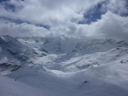 Piz Chalchagn, Skitour, Engadin, Pontresina, Morteratsch