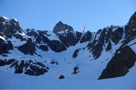 Skitour, Schweiz, Zwächten, Coilour Zwächten, Gross Spannort, Bärenstock, Meiental, Gorezmettlen, Rossbiel, Rossfirn, Chüefad