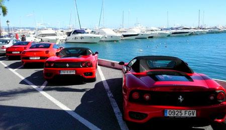 Ferrari in Puerto Banus