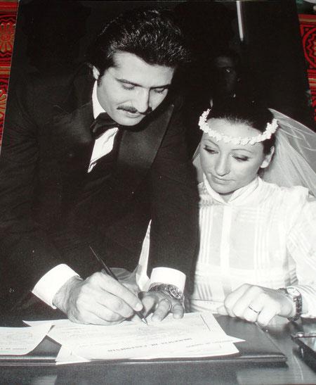 Fabio Barbaranelli and Rita Romano Barbaranelli, Federica's  father and mother - The Marriage