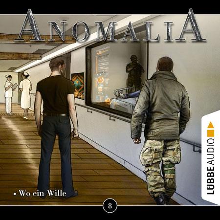 CD-Cover Anomalia Folge 8