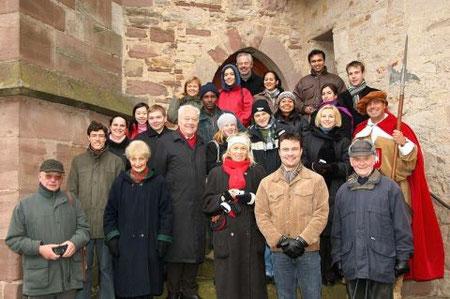 Gruppenfoto anläßlich der Stadtführung