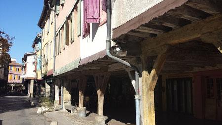 La vieille ville de Mirepoix