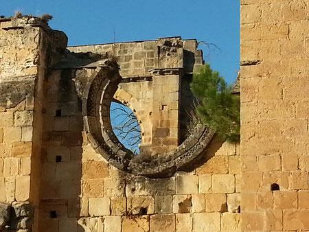 Ruines de l'abbaye d'Alet-les-bains