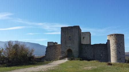 Château cathare de Puivert et son instrumentarium