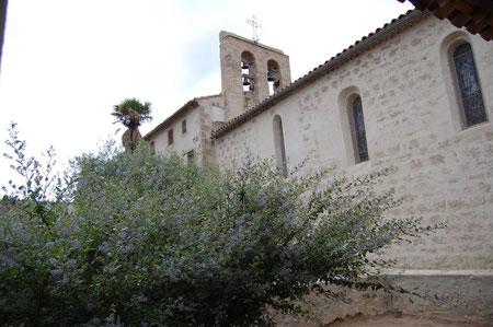 """L'église de Pauligne, restaurée grâce à """"Toques et Clochers"""" en 2002"""