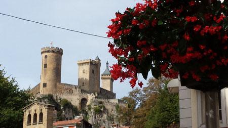 Foix et son château en Ariège
