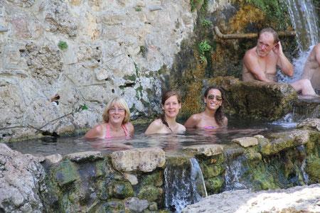 Sources d'eau chaude à Rennes-les-Bains