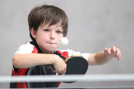 Luca Sanchez sorgte für den Ehrenpunkt beim Spiel der Jungenmannschaft gegen den LTV Lippstadt