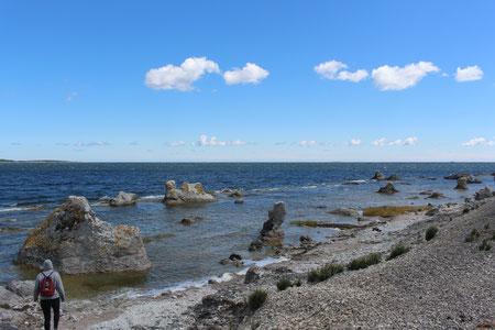 Auf der Insel Gotland