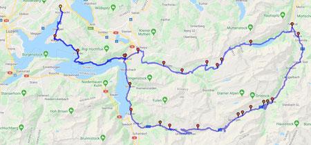 Mit zwei Api's dreihundert Kilometer durch die Alpenwelt.