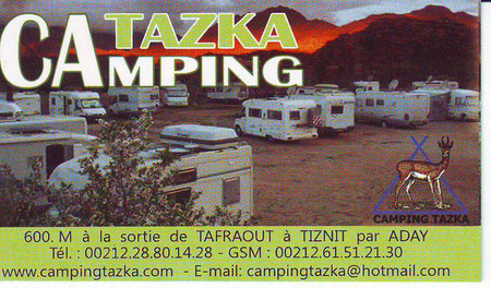 Camping Tazka (Tafraoute)