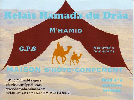 Camping Hamada du Draâ (M'hamid)