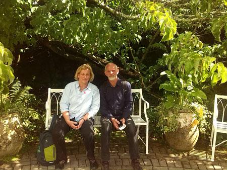 Portrait Marleen und Thomas Knust, Inhaber Knust Garten- und Landschaftsbau.