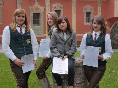 Alexandra Taschner, Magdalena Polzhofer, Lisa Maria Taschner, Michaela Gruber