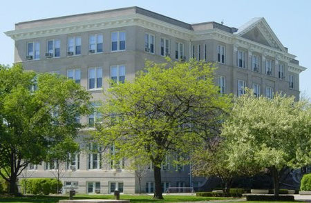 Saint Viator College (1865 - 1939) Bourbonnais, IL.