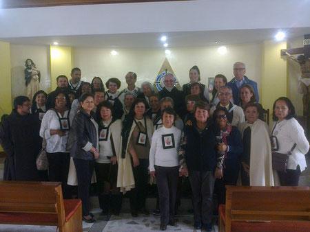 Retiro OCDS, Bogotá, Julio 17 al 20 de 2015
