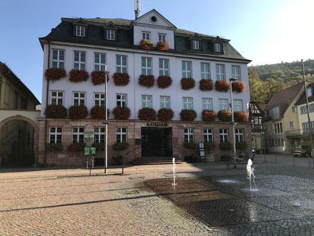 Das Rathaus von Miltenberg