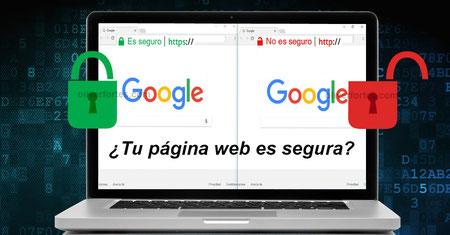 HTTP a HTTPS - Google marcará todas las páginas web HTTP como no seguras