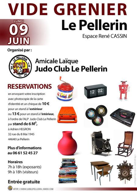 vide grenier Judo Club Le Pellerin